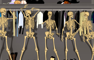 3 Tips for Dealing with the Skeletons in Your Closet
